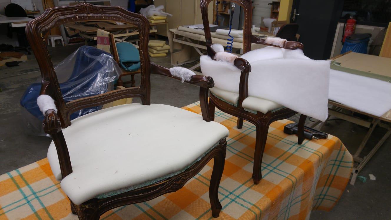 Stoel Stofferen Prijs : Stoelen opnieuw bekleden kosten fauteuil opnieuw stofferen werkspot