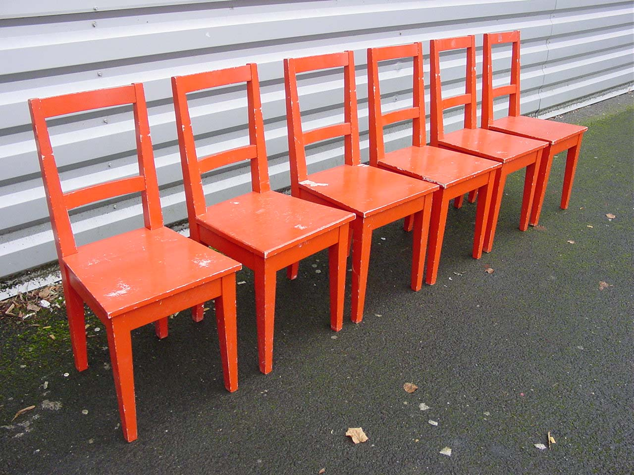 Chaises Rouges Chaises Rouges