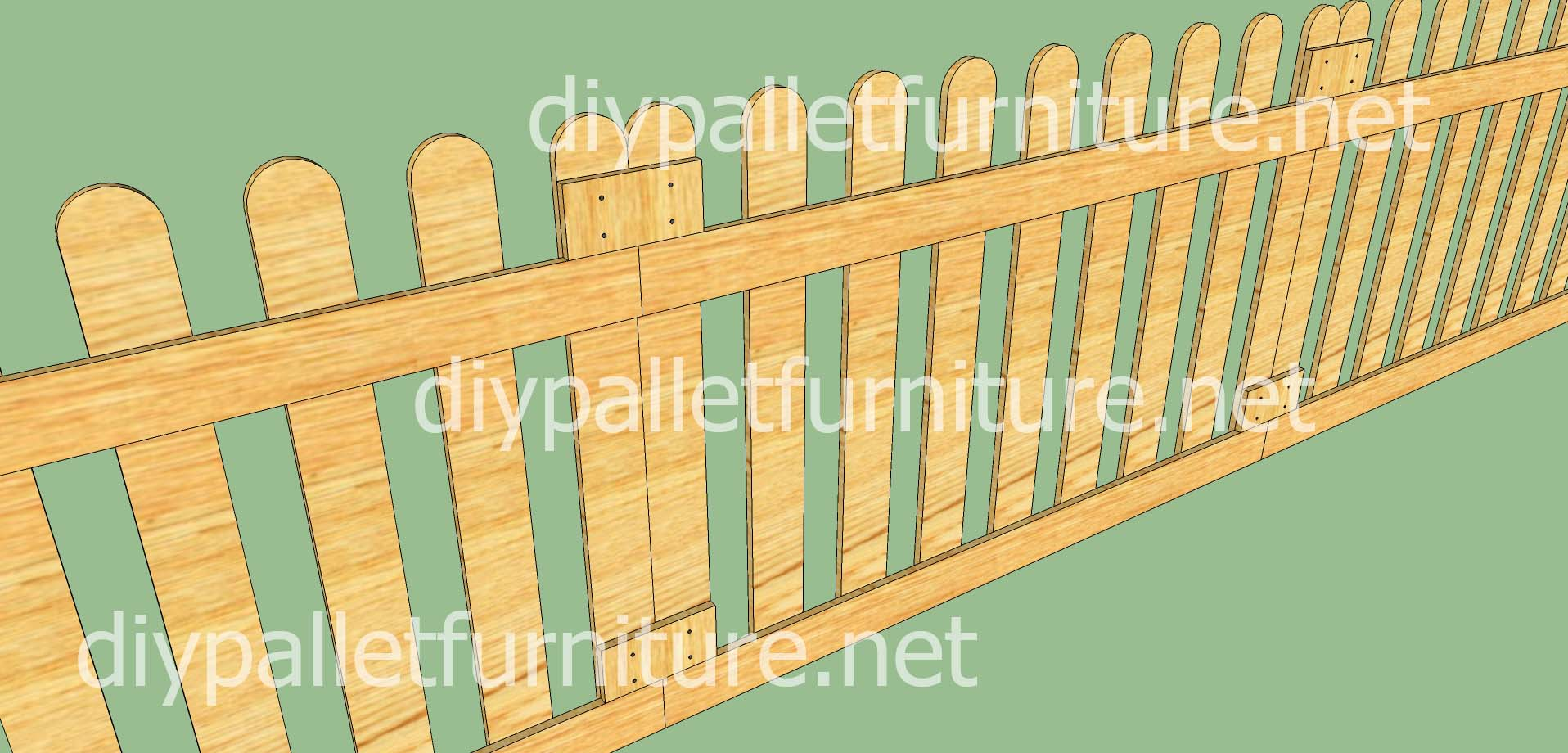 Cloture En Bois De Palette Cloture De Jardin En Palette Cloture All E De Jardin Palette