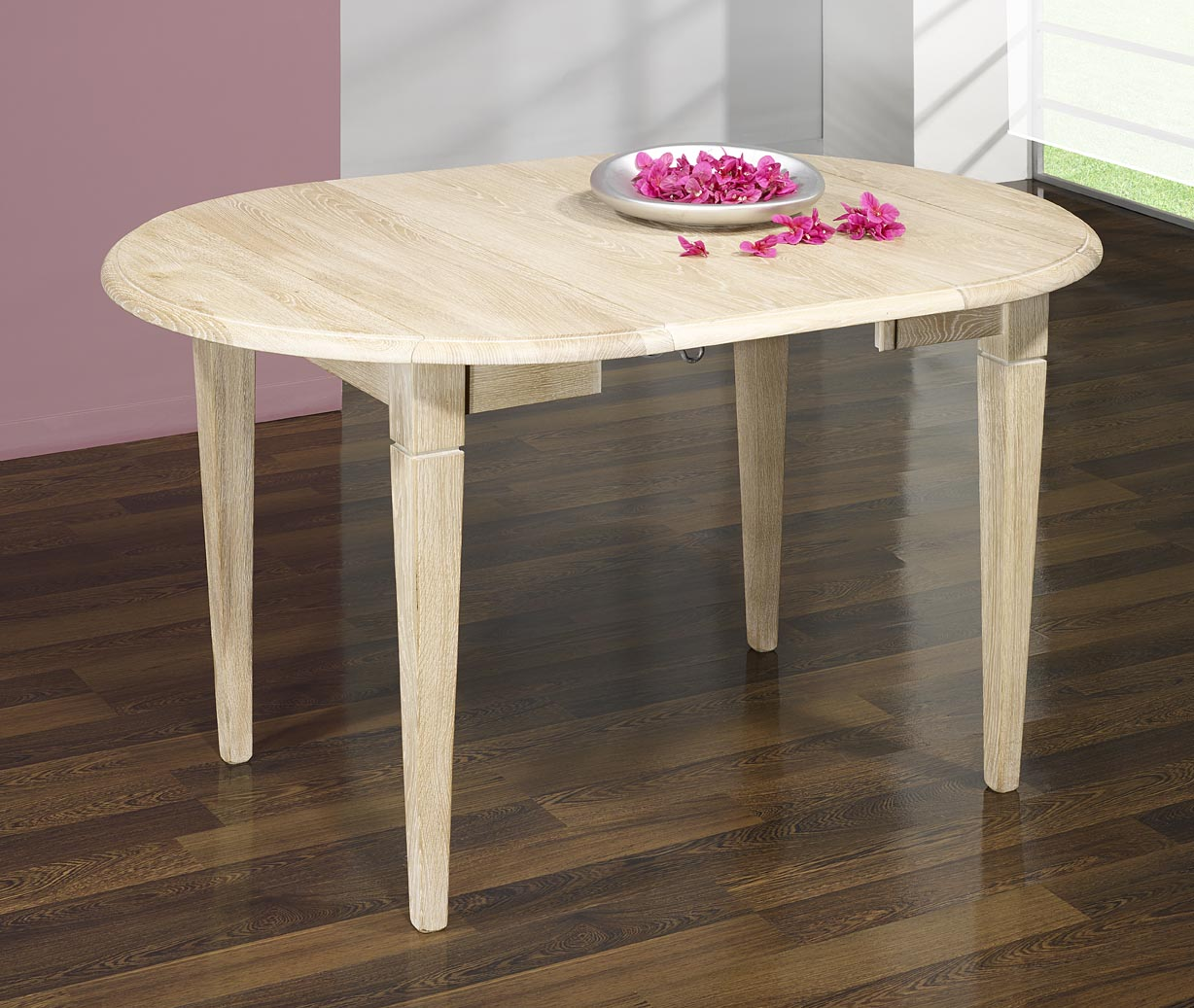 Table Ronde 80 Cm Conforama Table Ronde à Volets Diamètre 80 Cm En Chêne Massif De
