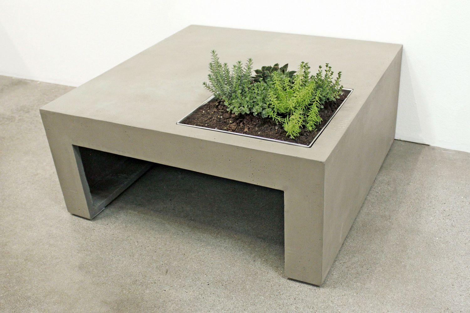 Table De Jardin Beton Table De Jardin En Beton Table En Beton Exterieur Table