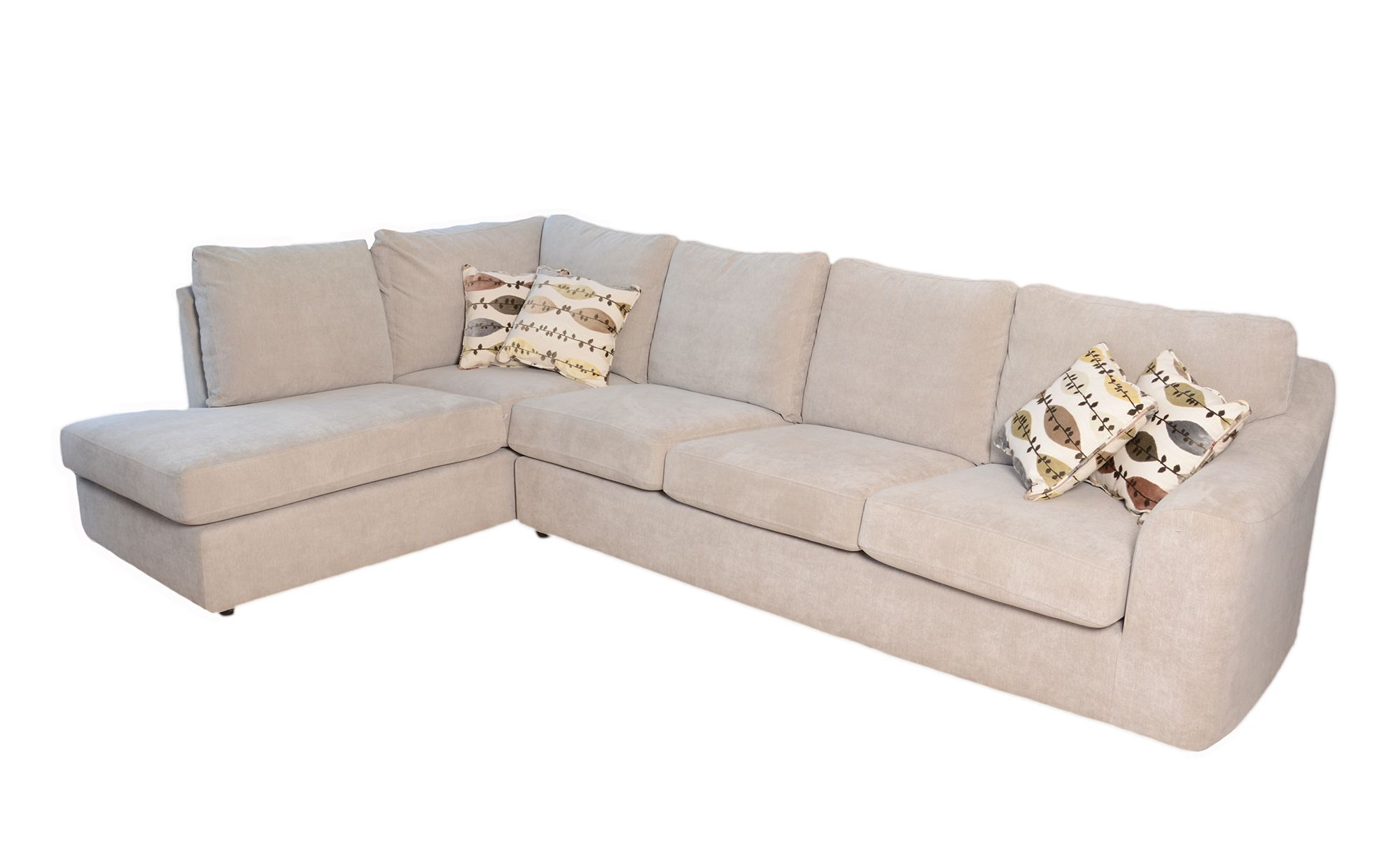 Meubles Furniture Ireland Pluto 4 Seater Corner Sofa C W Chaise Lhf Fabric A Meubles