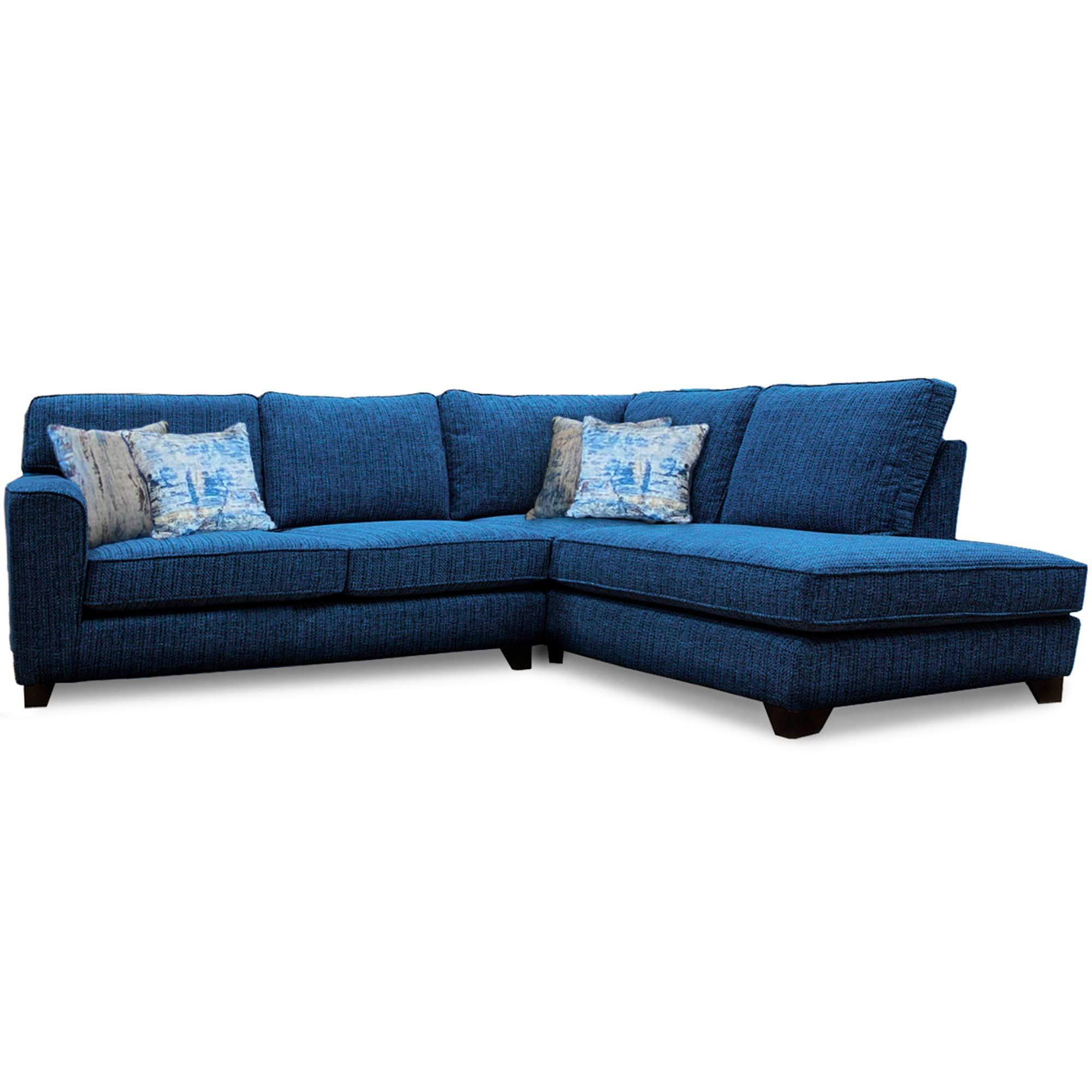 Bali 2 Seater Corner Sofa With Chaise Rhf Fabric A Meubles
