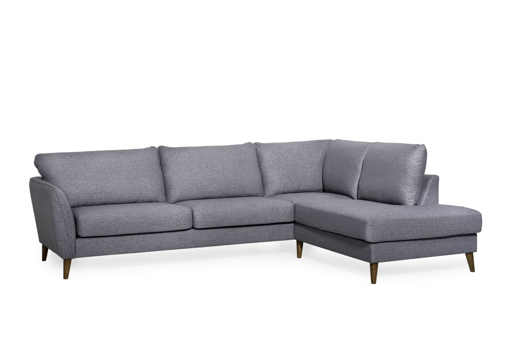 Scully 2 Seater Sofa With Corner Unit And Chaise Rhf Fabric C Corner Sofas Meubles