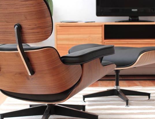 James Eames Lounge Chair Eames Lounge Chair Inspiration Cognac - Fauteuils Premium ...
