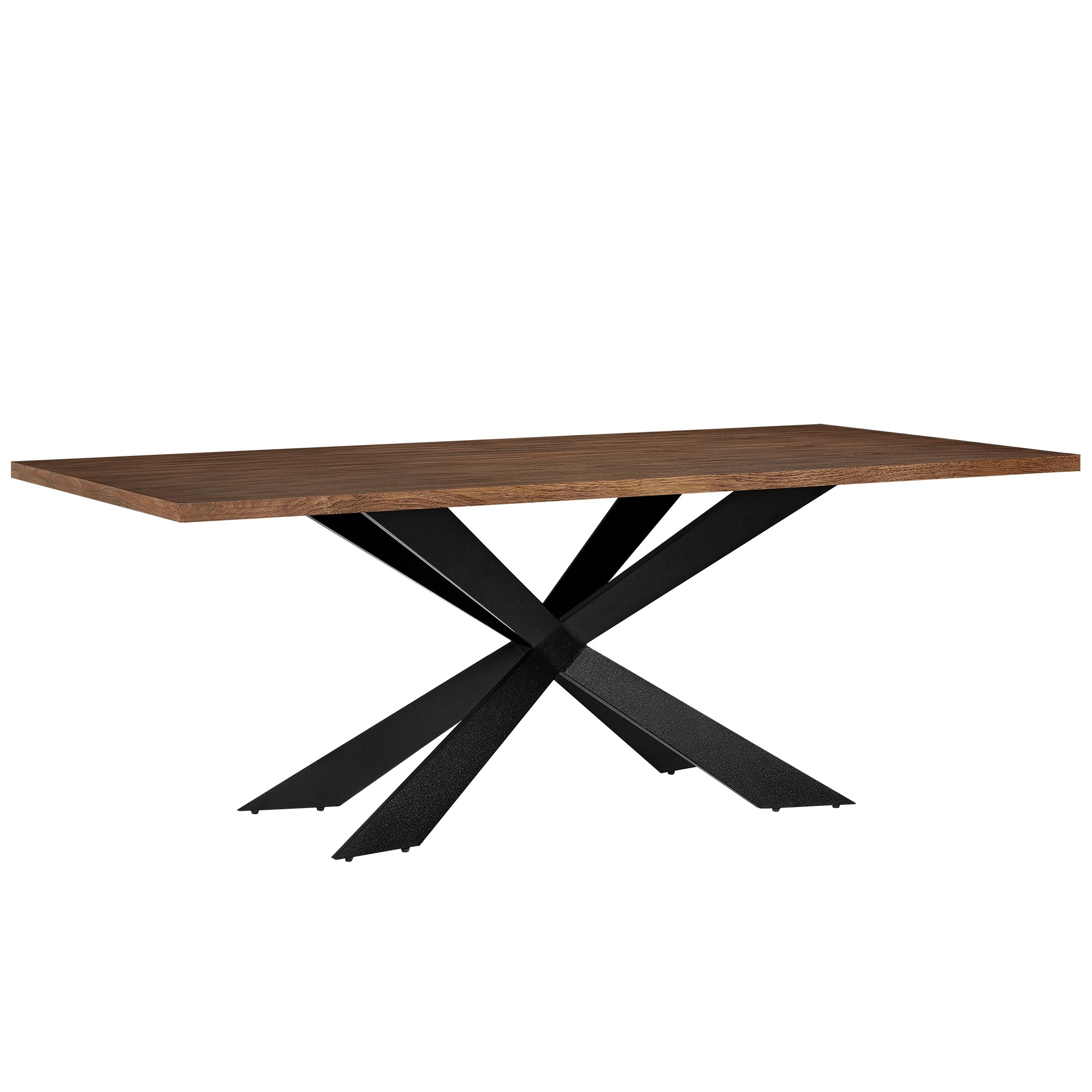 Table En Fer Table En Bois Et Fer 200 X 100 Cm Pour Tables A 498 05