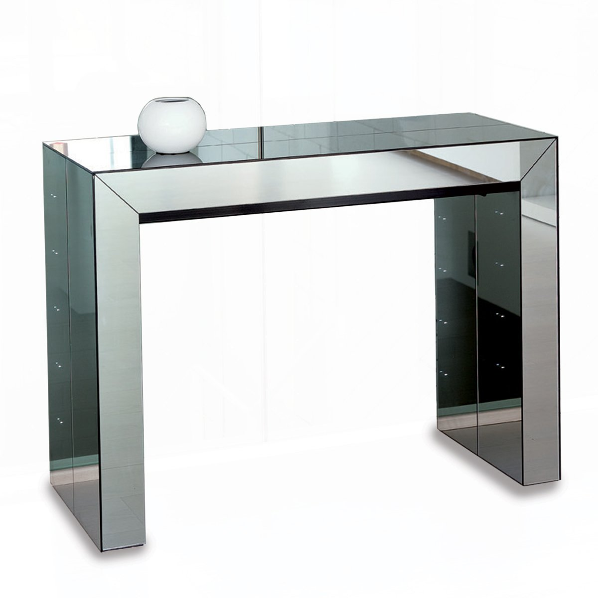 Table Console Modulable Console Transformable En Table Table Bois Console
