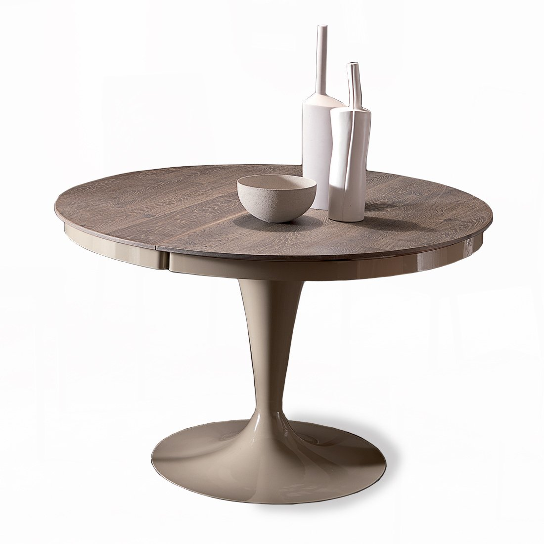 Table Haute Rallonge Table Ronde Extensible Eclipse Bois