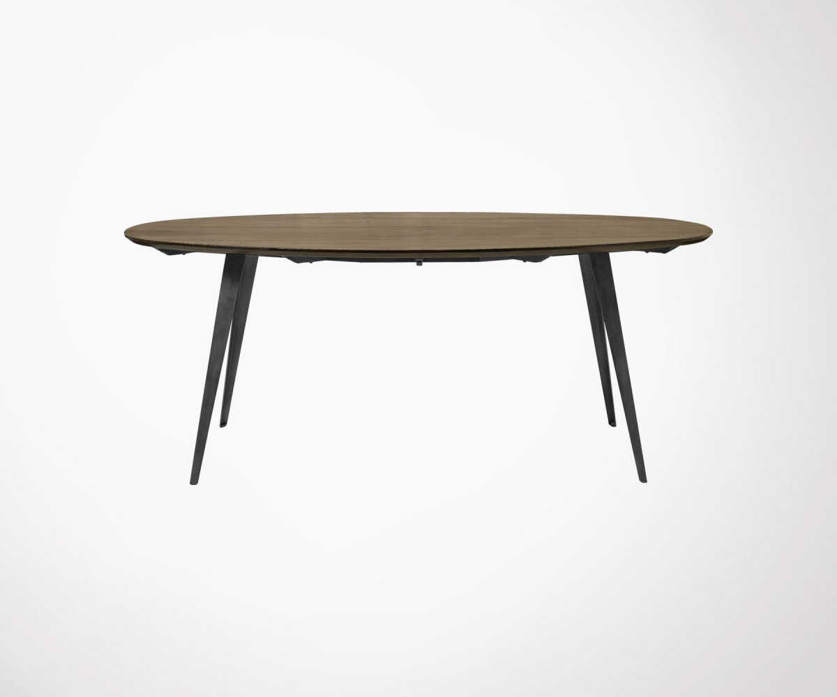 Table Ovale Large Oval 200x100 Dining Table By Nordal Scandinavian Look