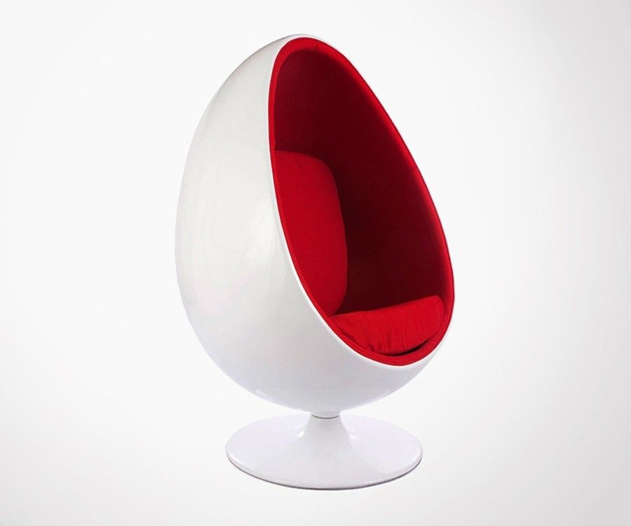 Chaise Table à Manger Eggy Armchair Is Inspired By Designer Eero Aarnio