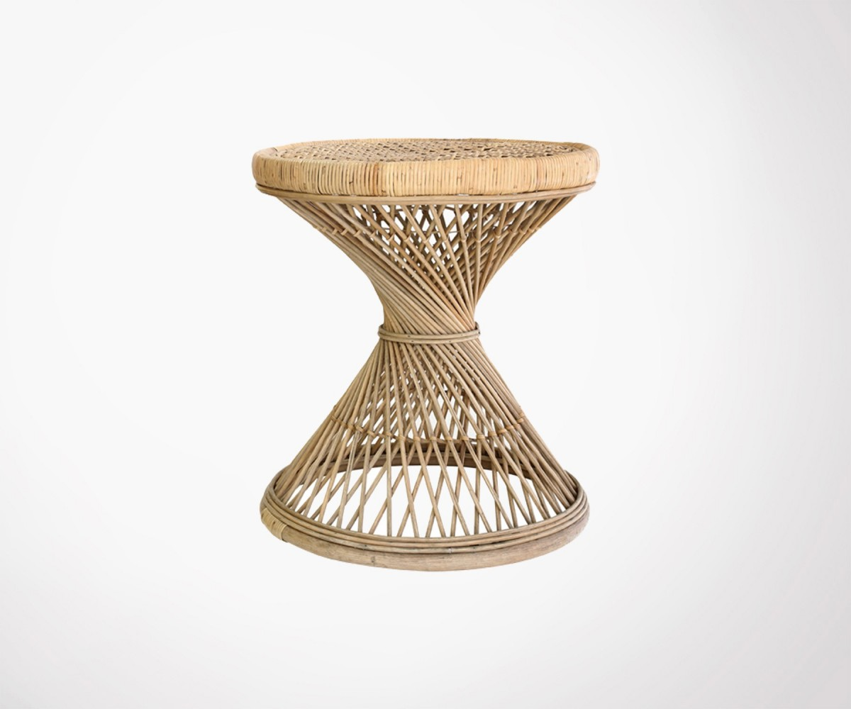 Table Rotin Table D 39appoint Rotin Naturel Top Des Ventes