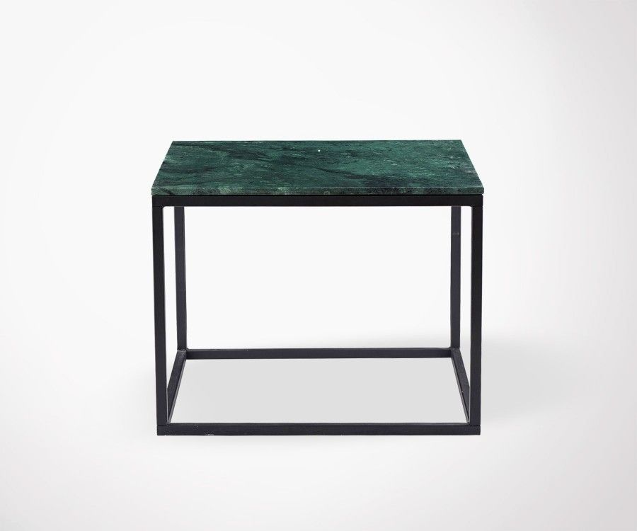 Table Basse Carrée Marbre Table Basse Design En Marbre Vert - House Doctor