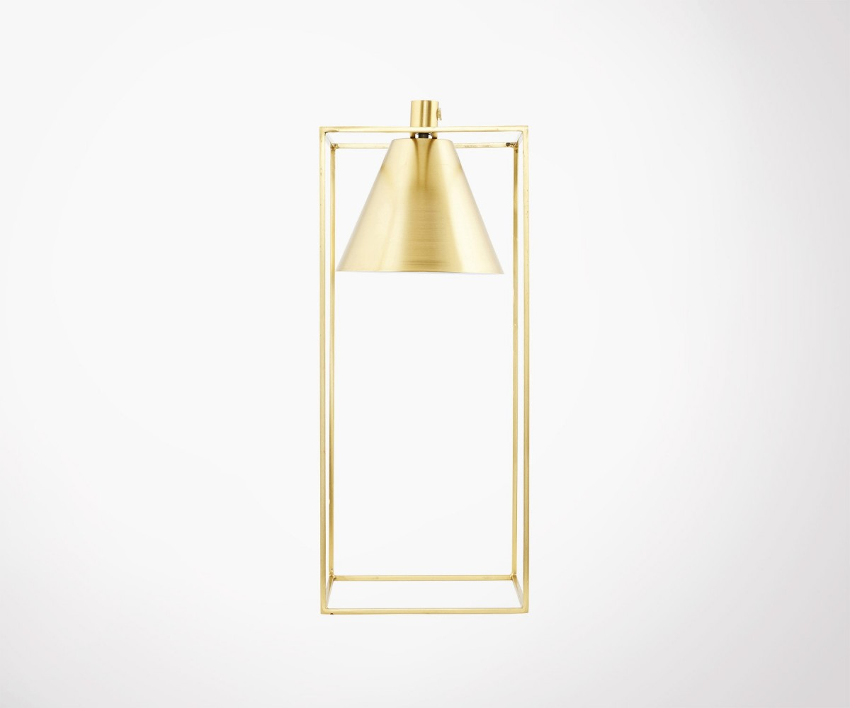 Lampe Gold House Doctor Lampe Gold
