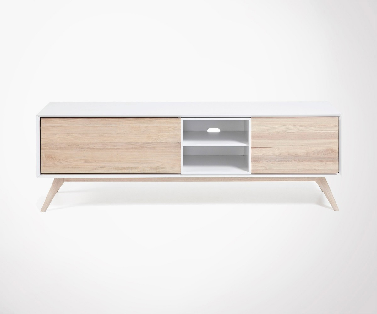 Meuble Tv 170 Cm Scandinave Look Design Tv Unit Top Design 170cm