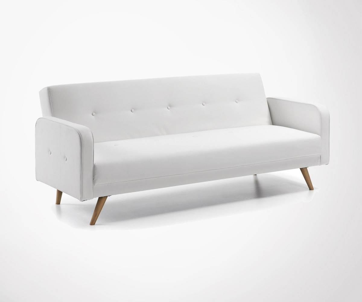 Canapé Type Scandinave Large Convertible Sofa 2 Colors In Stock Nordic Style