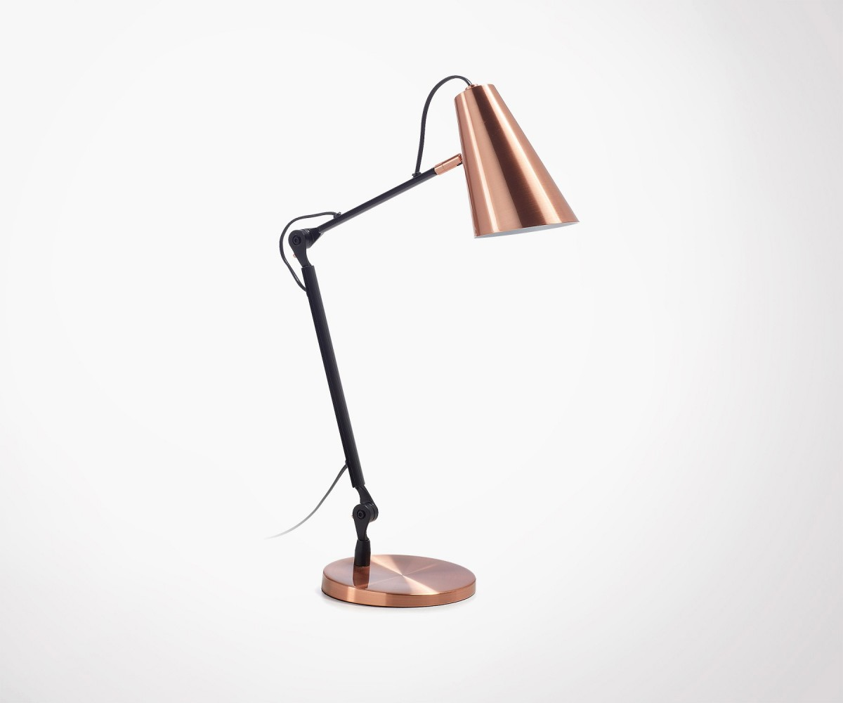 Lampe Cuivre Copper Metal Desk Lamp Industrial Design Top Design