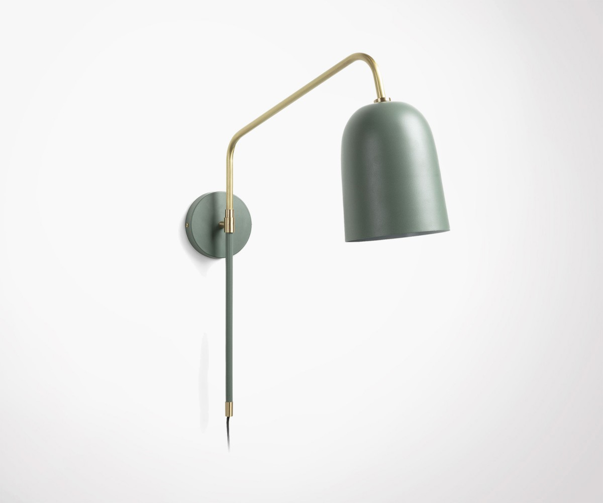 Applique Murale Design Scandinave Frule Green Metal Scandinave Wall Lamp Meubles Et Design