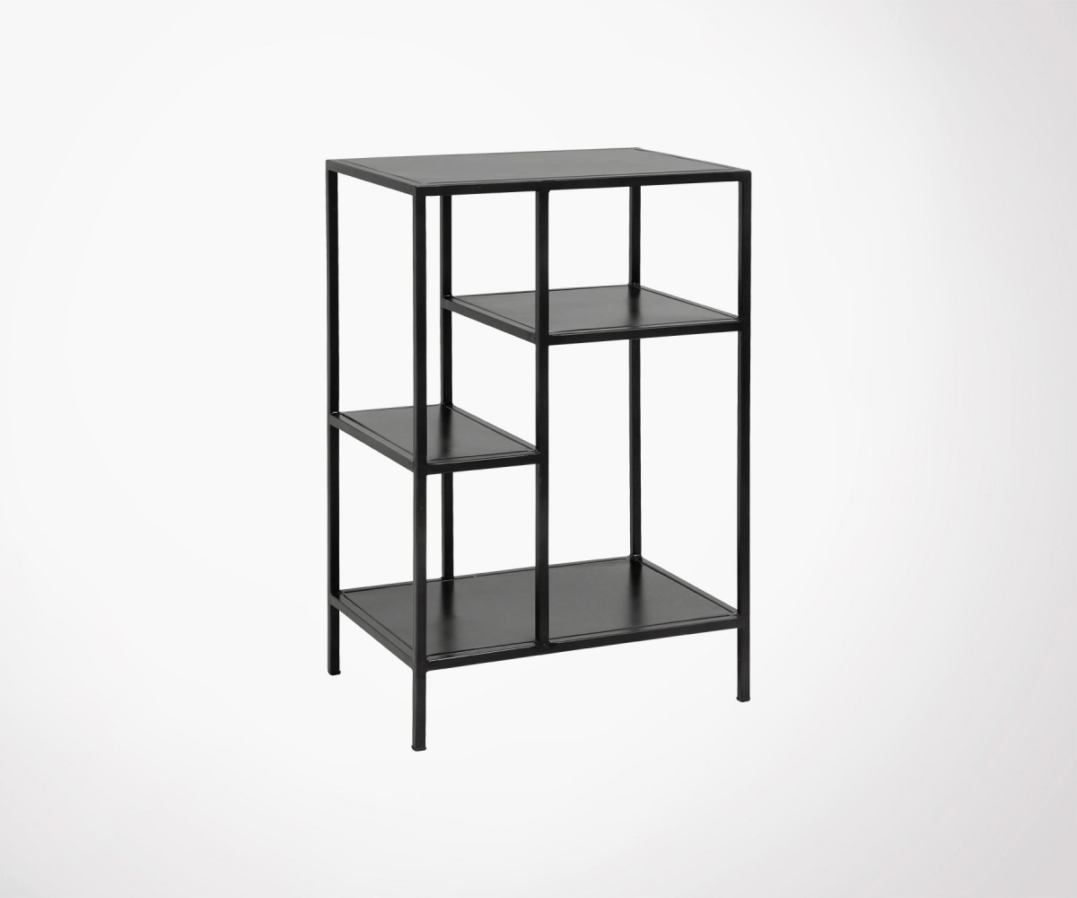 Etagere Metal Small Industrial Design Metal Shelf Racka Nordal