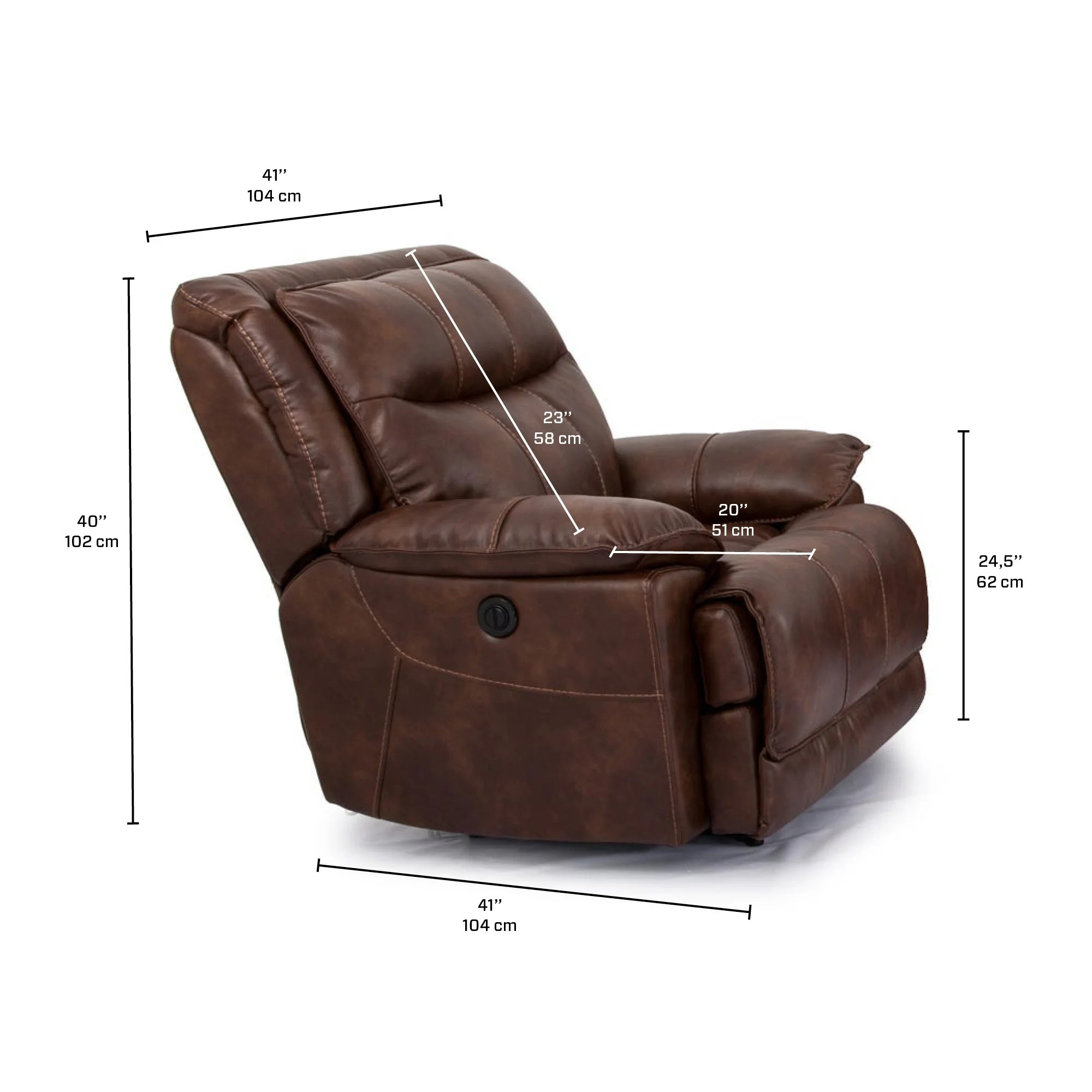 Fauteuil Bercant Inclinable Meubles Rd