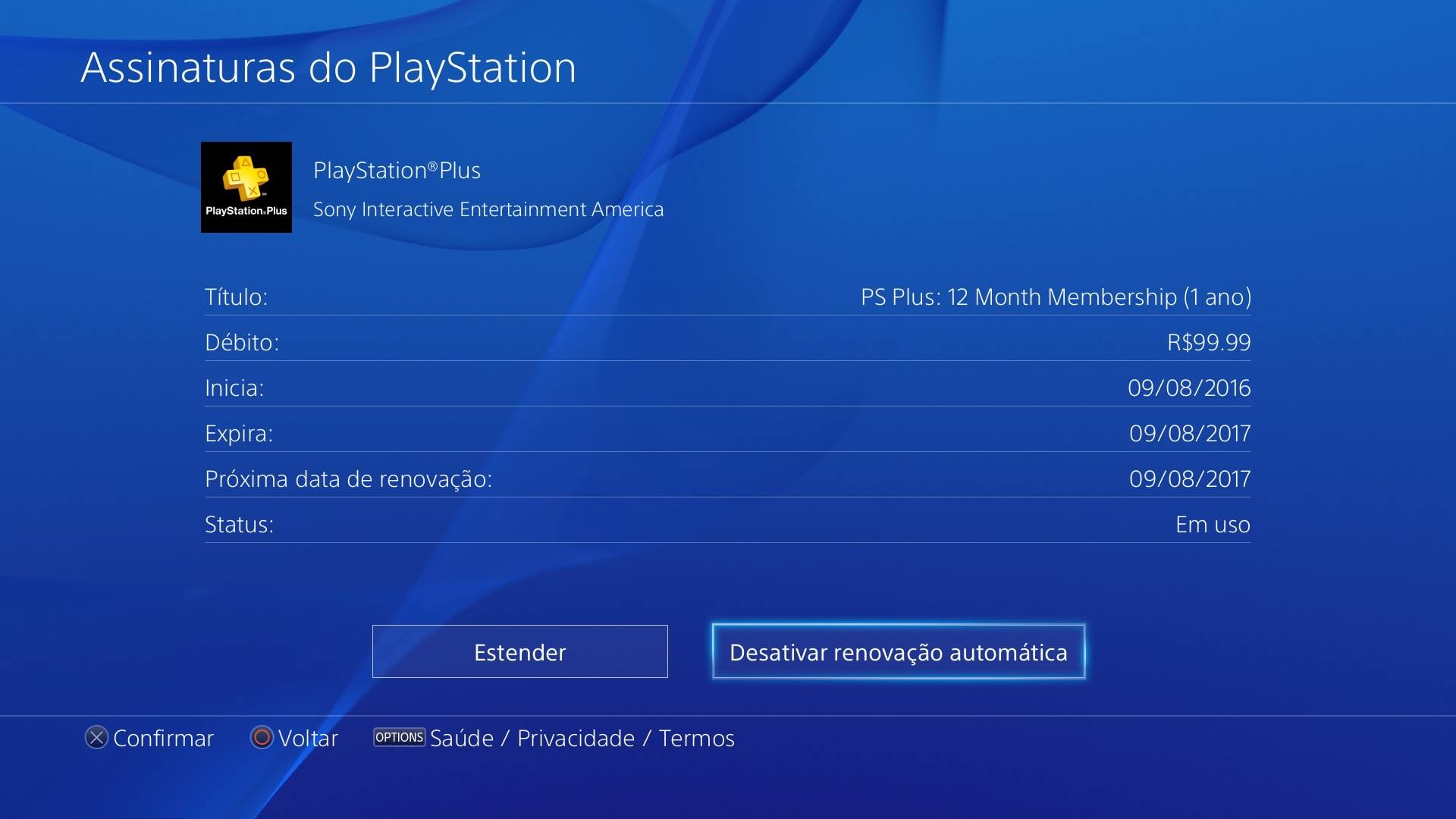 Playstation Plus 12 Meses Como Estender A Assinatura Da Playstation Plus