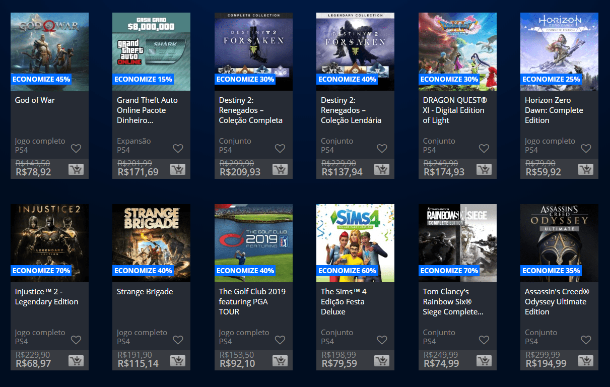Playstation Plus 12 Meses Sony Anuncia Promoção Black Friday Na Playstation Store