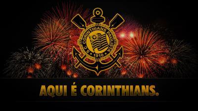 Wallpaper do Corinthians: Aqui é Corinthians