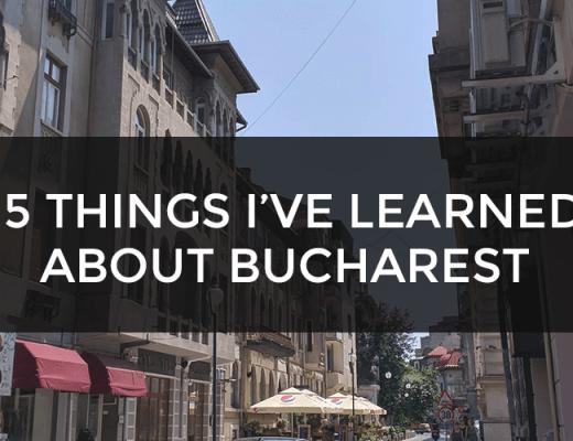 things i've learned bucharest