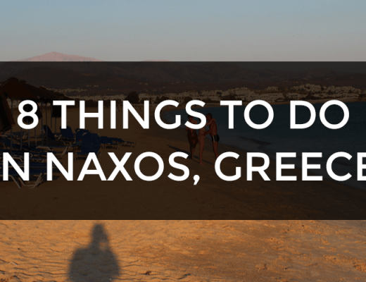 things to do naxos