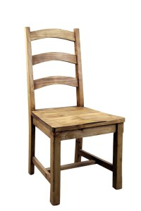 Vivere Pine Dining Chair | Mexican Rustic Furniture and ...