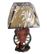Saddle Table Lamp | Mexican Rustic Furniture and Home ...