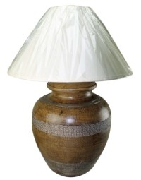 Decorative Maize Table Lamp | Mexican Rustic Furniture and ...