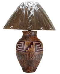 Indian Mesa Table Lamp | Mexican Rustic Furniture and Home ...
