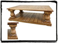 Rustic Pine Coffee Table | Mexican Rustic Furniture and ...