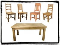 rustic dining room set | Mexican Rustic Furniture and Home ...