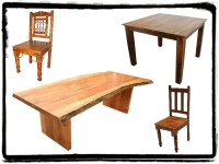 rustic dining room sets | Mexican Rustic Furniture and ...