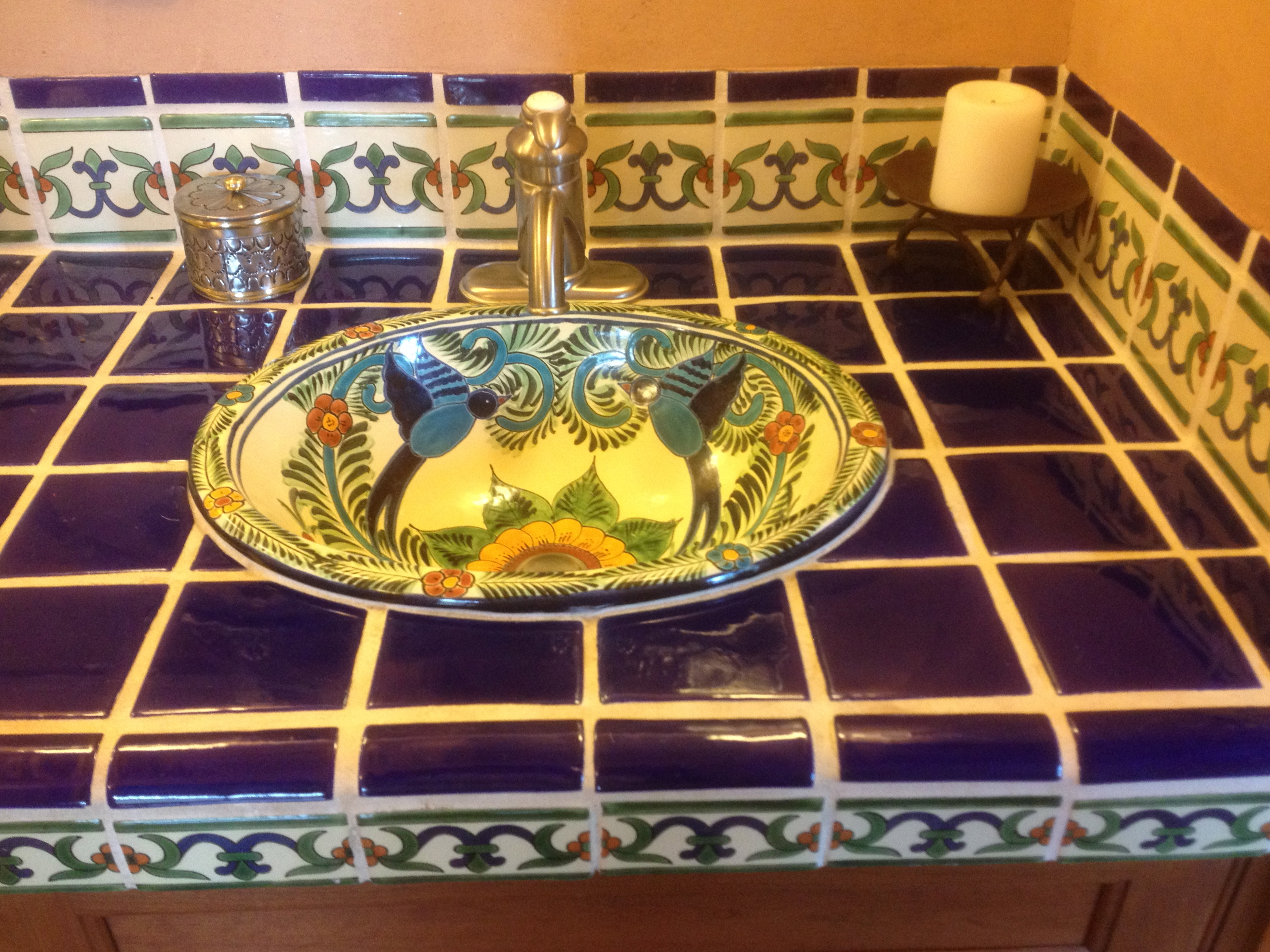 Spanish Tile Countertops Ideas For Using Mexican Tile In Your Kitchen Or Bath