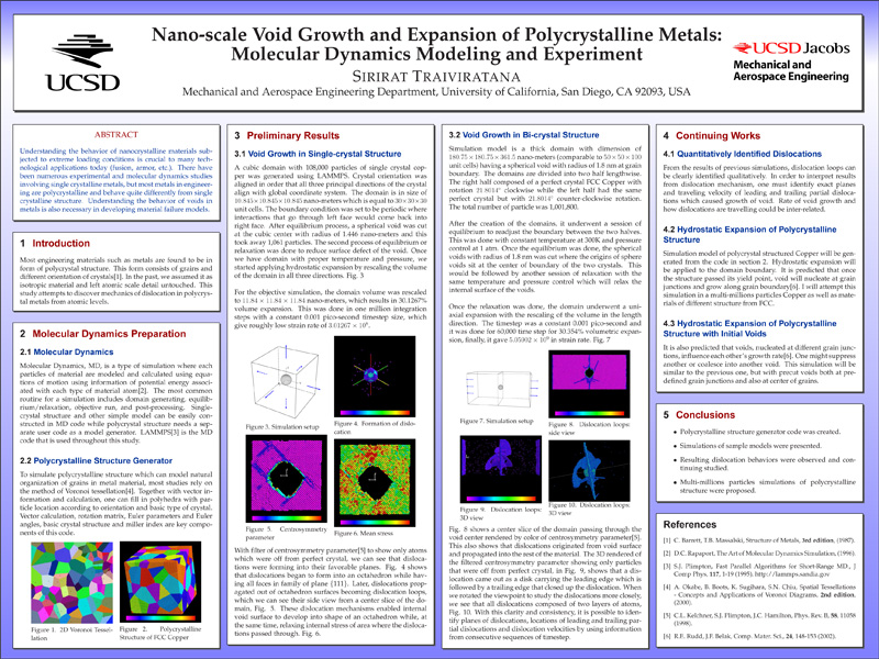 Research Posters - Marc A Meyers - UCSD - research poster