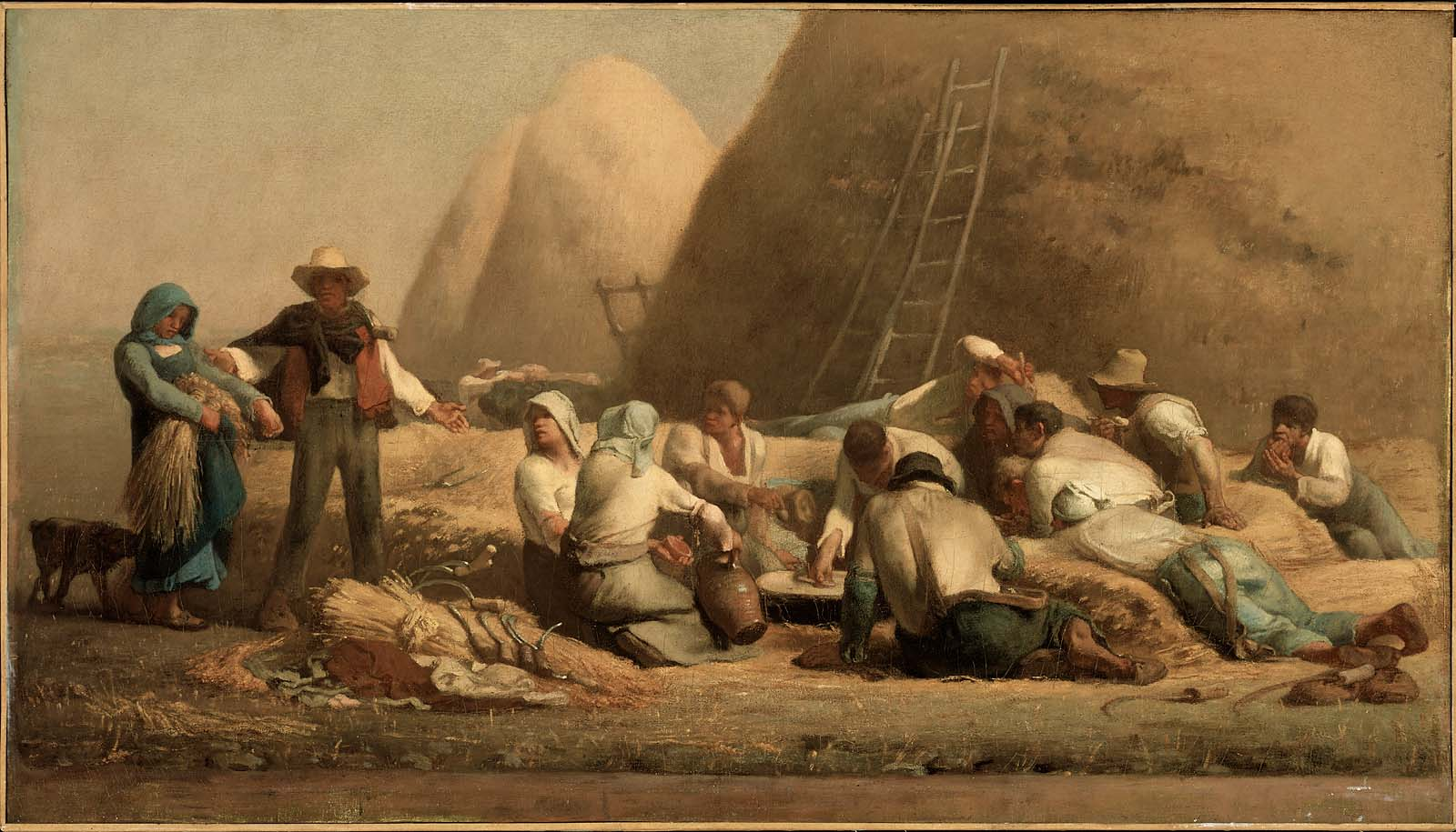Realismo Pintura Caracteristicas Harvesters Resting Ruth And Boaz Museum Of Fine Arts