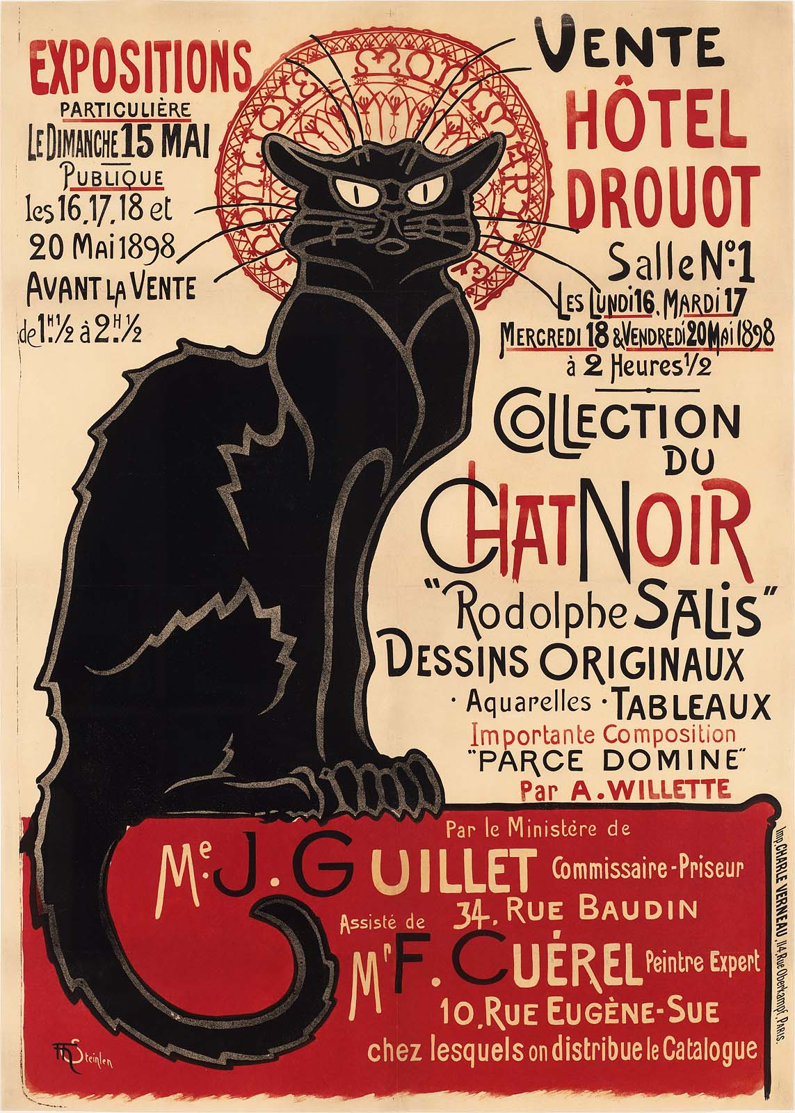 Poster Chat Collection Of The Chat Noir Museum Of Fine Arts Boston