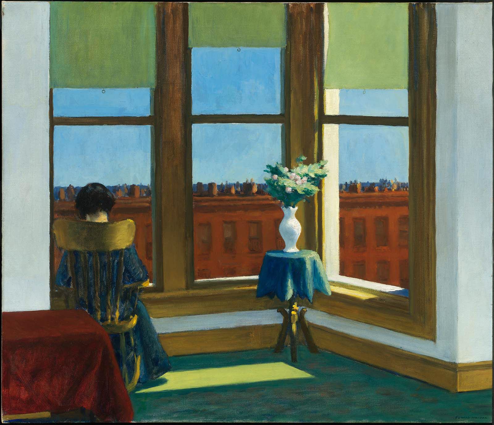 La Chambre A New York Edward Hopper Room In Brooklyn Museum Of Fine Arts Boston