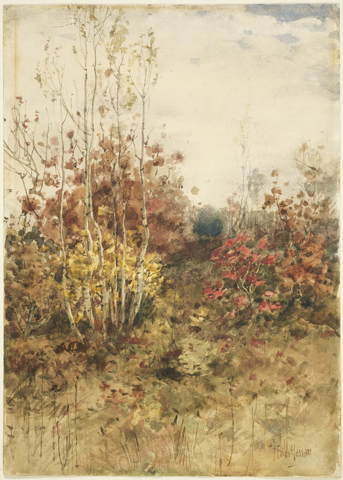 Fall Paintings Wallpaper Mfa Images American Impressionism Amp Related Works