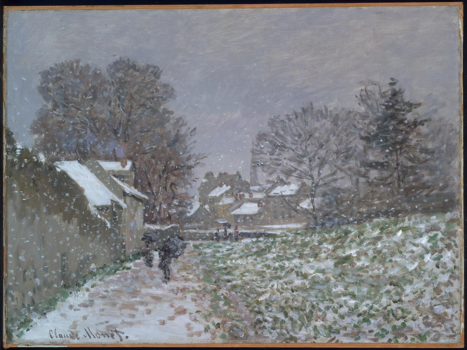 Photo Argenteuil Snow At Argenteuil Museum Of Fine Arts Boston