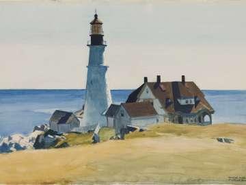 Lighthouse And Buildings Portland Head Cape Elizabeth