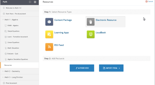 Add Resource Type