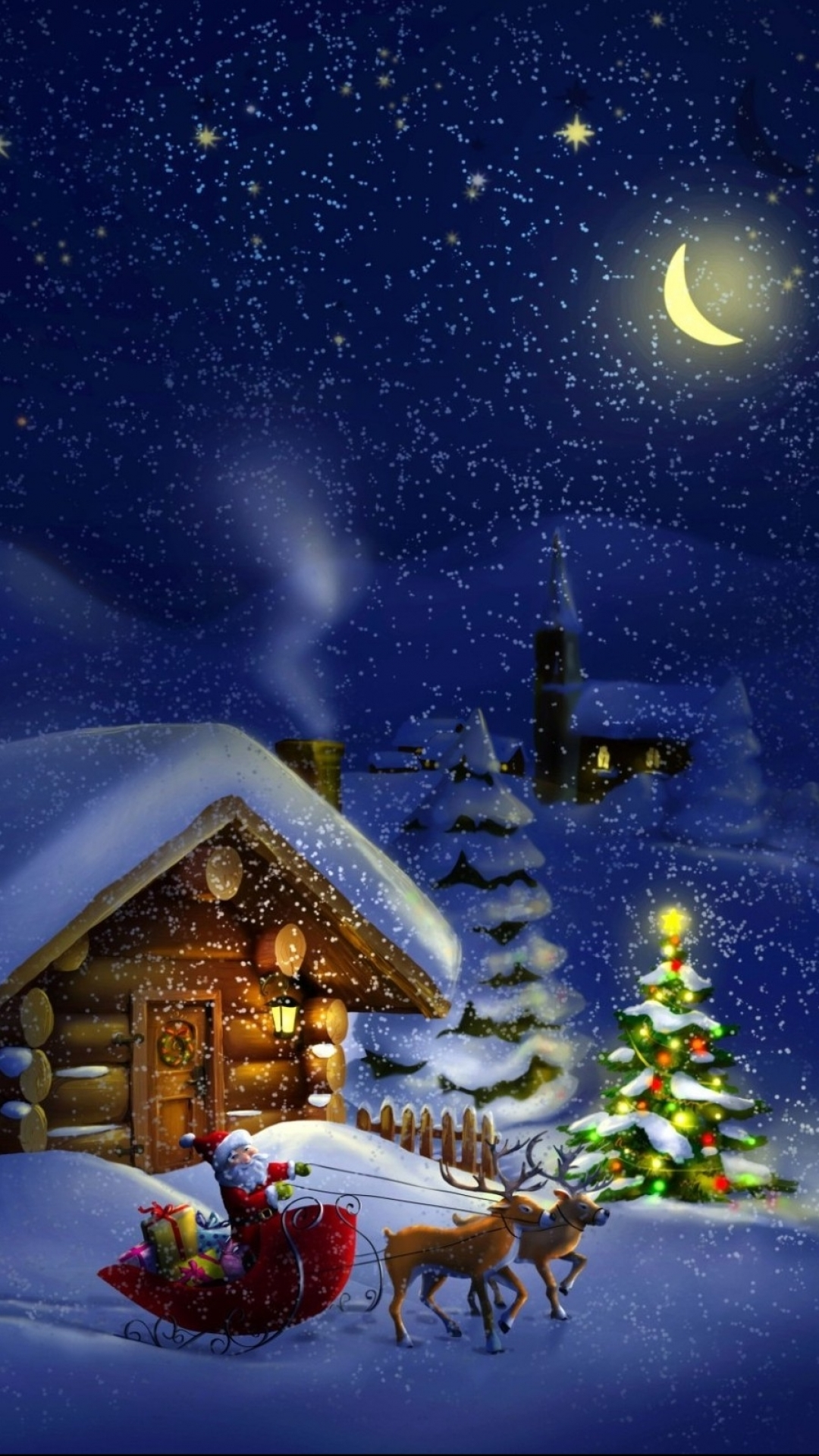 Free Animated Falling Snow Wallpaper Iphone 7 Plus Holiday Christmas Wallpaper Id 125201