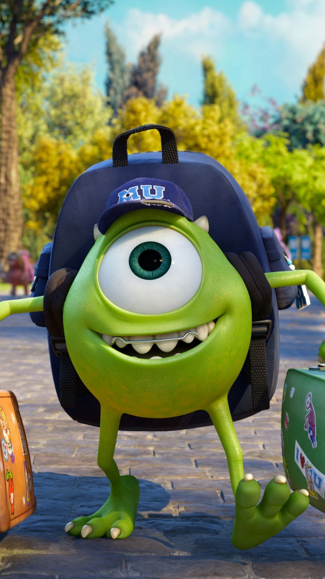 Movie monsters university mike wazowski wallpaper 131995