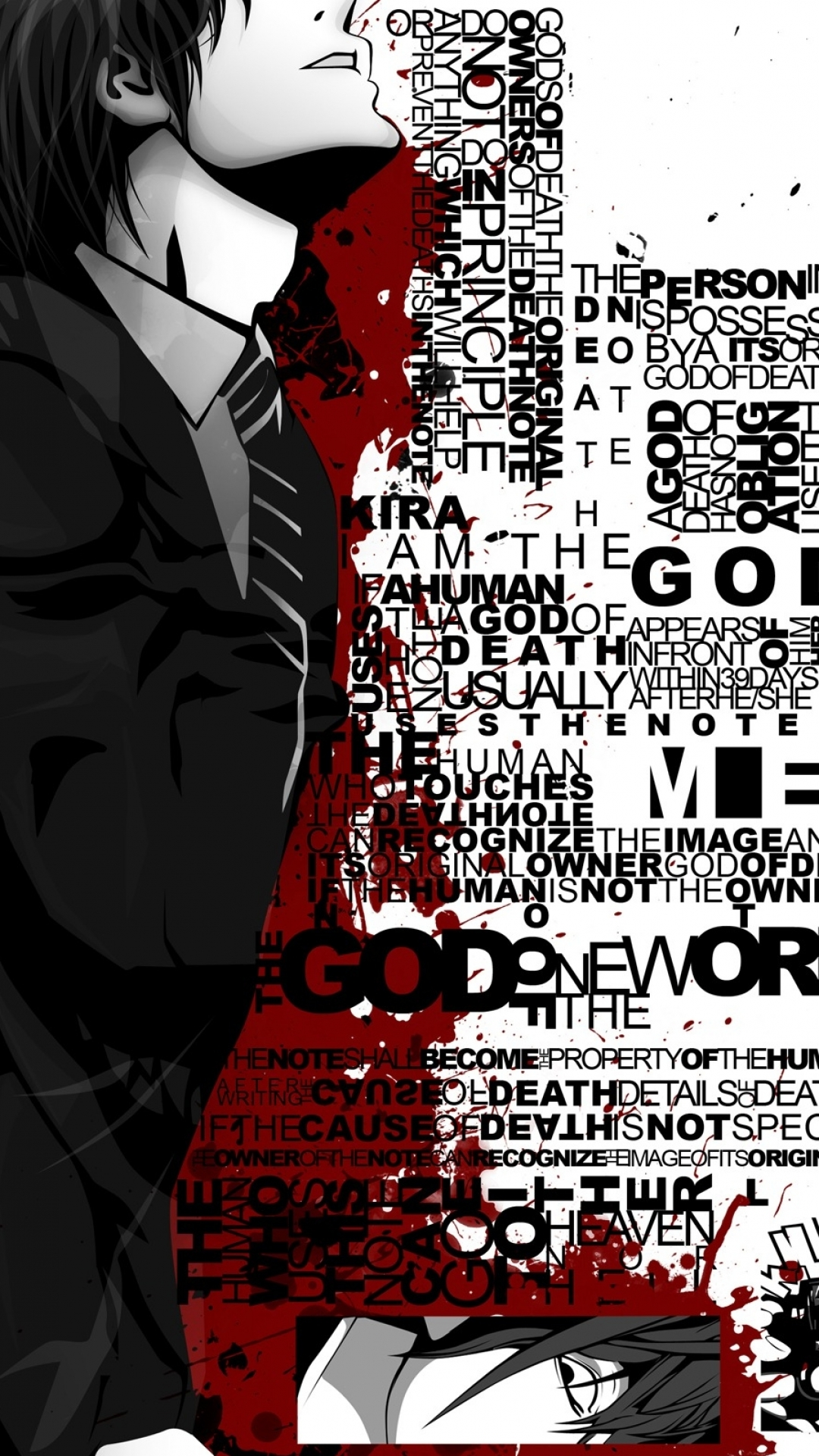 Free Fall Cell Phone Wallpapers Anime Death Note Wallpaper Wallpaper For Mobile