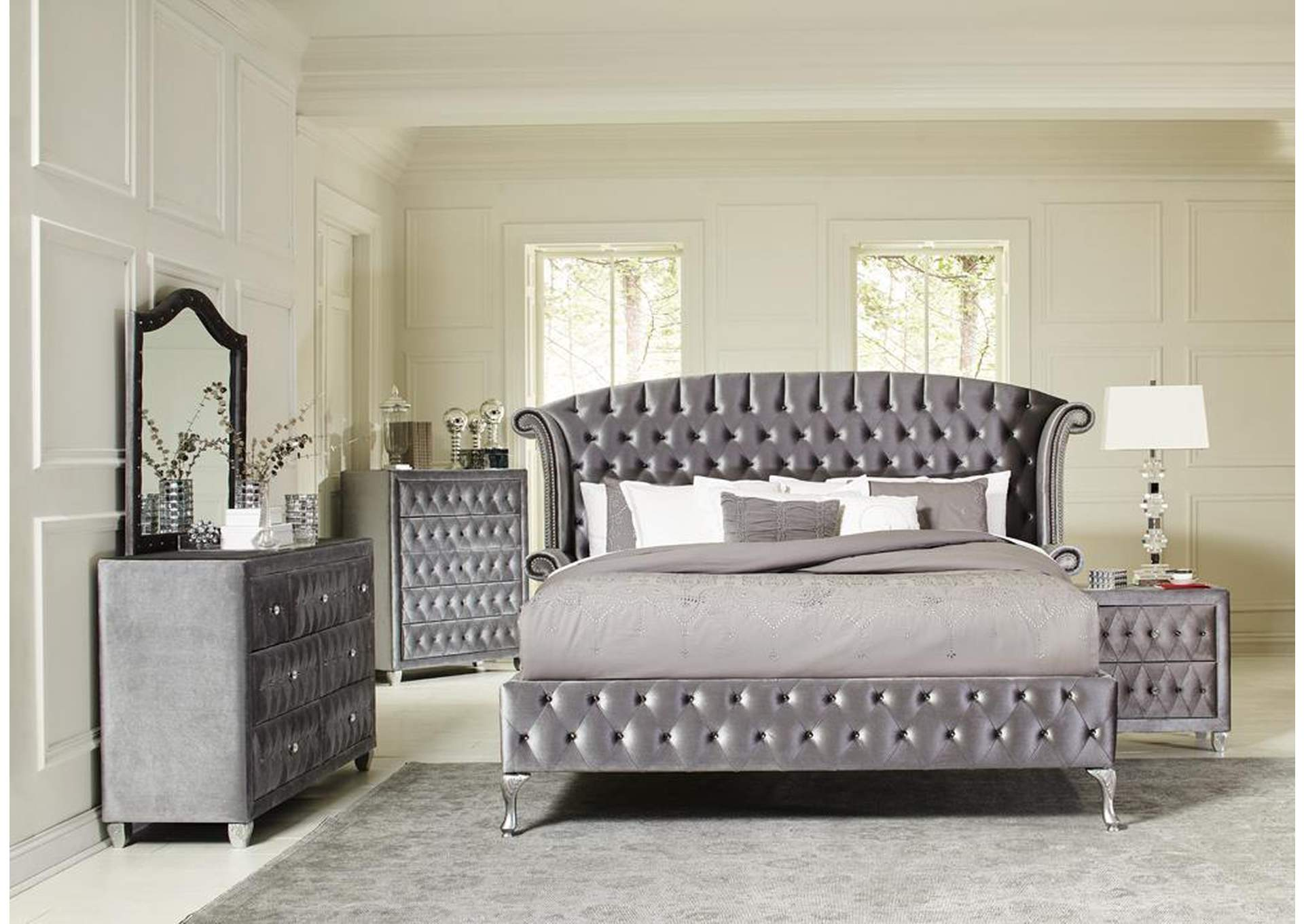 Coral Reef 4 Piece California King Bedroom Set Best Buy Furniture And Mattress