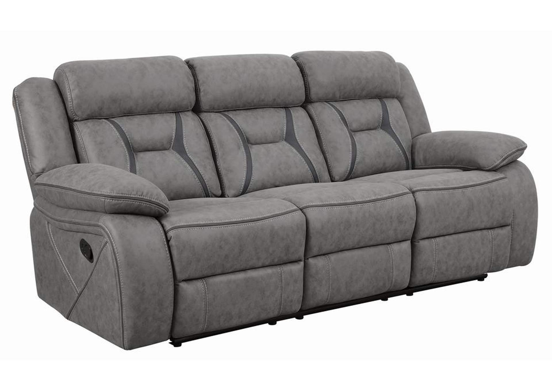 Gray Houston Casual Stone Motion Sofa Home Gallery Furniture Store Philadelphia Pa