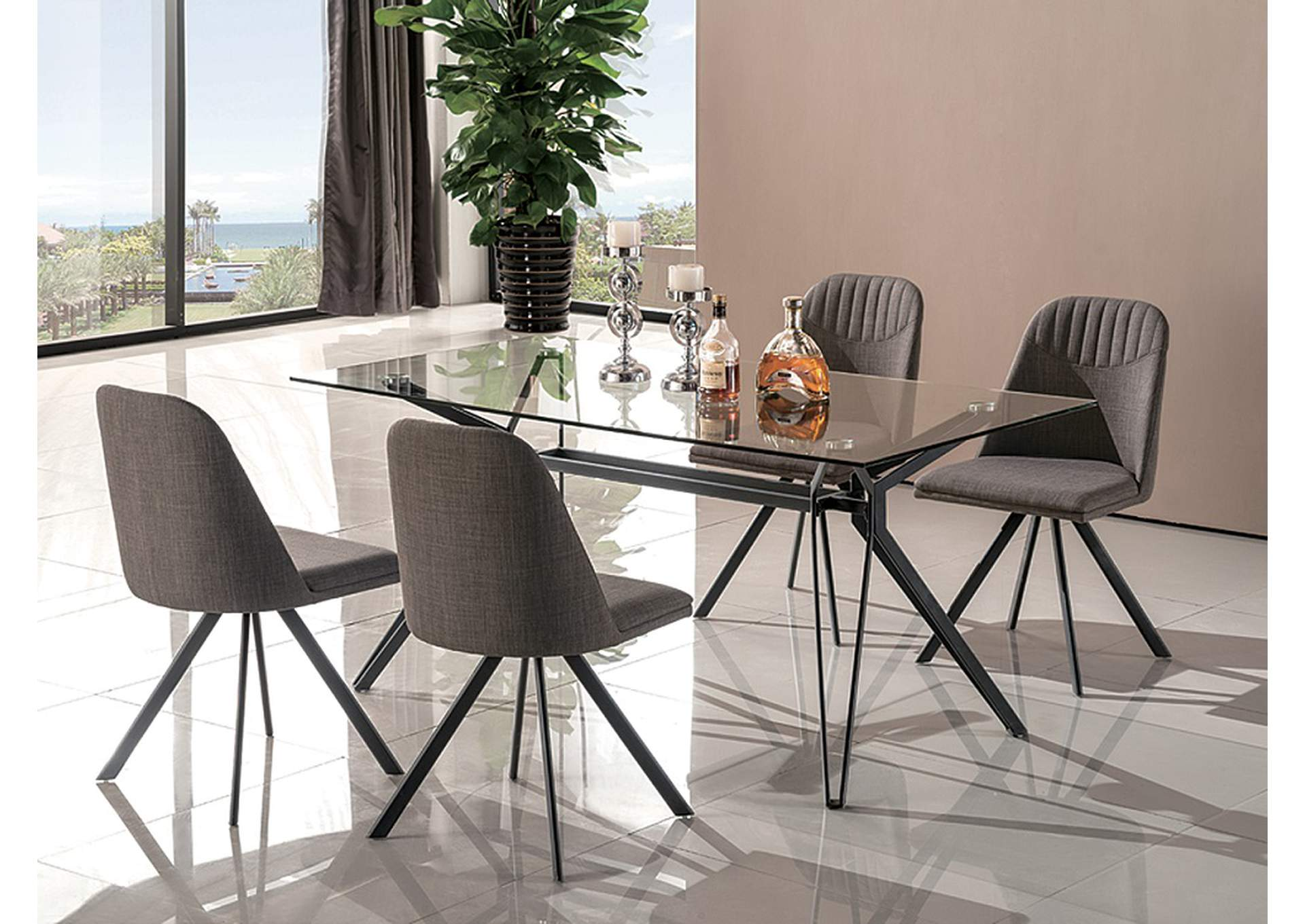 Fresno Dining Table Best Buy Furniture And Mattress